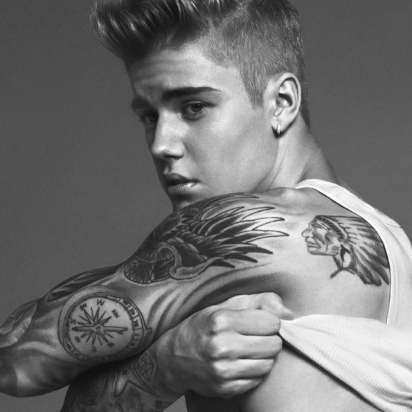 Justin Bieber my calvins Calvin Klein