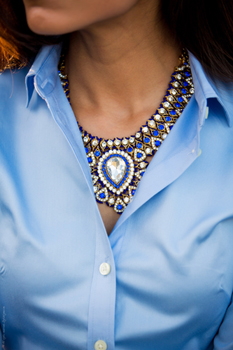 statement necklace for office