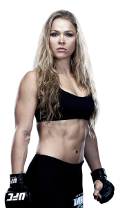 Ronda Rousey, Womens Bantaweight champion.