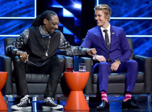 Snoop Dog and Biebs at the Roast