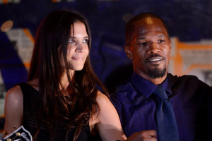 Katie Holmes and Jamie Foxx at the Hampton's event that started the dating rumors.
