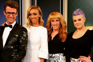 Kathy Griffin with her former Fashion Police co-hosts.