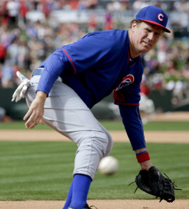 Will Farrell during his second game of the day with the Cubs.