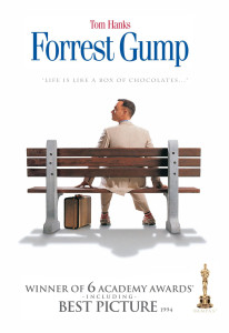 Forrest Gump has a 72% on Rotten Tomatoes.