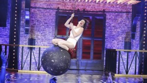 "Ann Hathaway version of ""Wrecking Ball"""