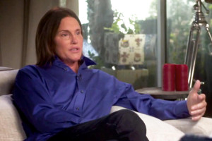Bruce Jenner during his tell all interview