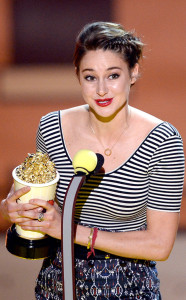Big Winner of the night Shailene Woodley