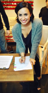 Demi Lovato signs for Safehouse Records