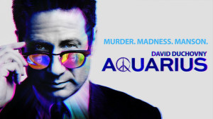 X-Files star David Duchovny takes on Manson in Aquarius.