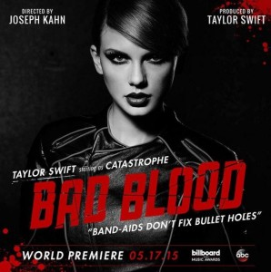 "Taylor Swift released her highly anticipated ""Bad Blood"" music video."