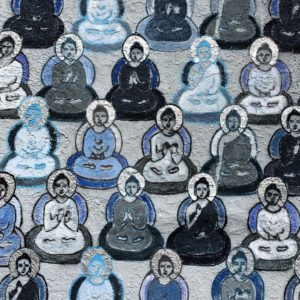 Buddha Mural on Abbot Kinney