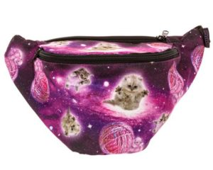 galaxy cat fanny pack
